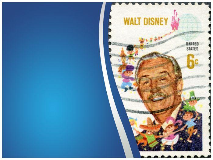 Walt Disney Point Template Templates Vision Design Ppt