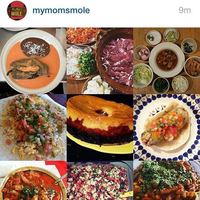 Look ma I made it!! S/O to @mymomsmole for the future #food #foodie #fooporn #mexicanfood by @who_i_be_