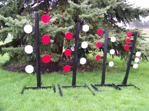 homemade shooting targets | Homemade Metal Shooting Targets The targets are easy to