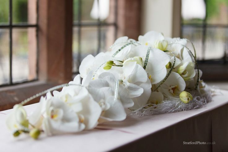 Wonderful Orchid shower Bouquet by Blue Orchid