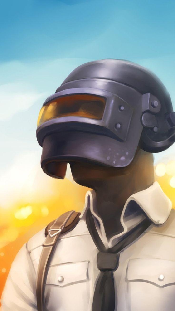 PUBG Mobile Helmet Guy Wallpaper