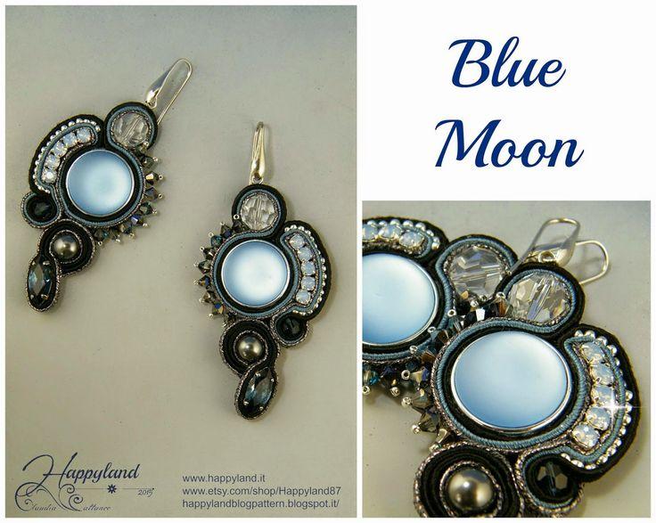 Le gioie di Happyland: Orecchini Blue Moon