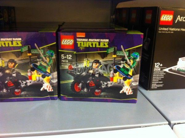 ToyzMag.com » Dispo en France : LEGO Tortues Ninja série 2