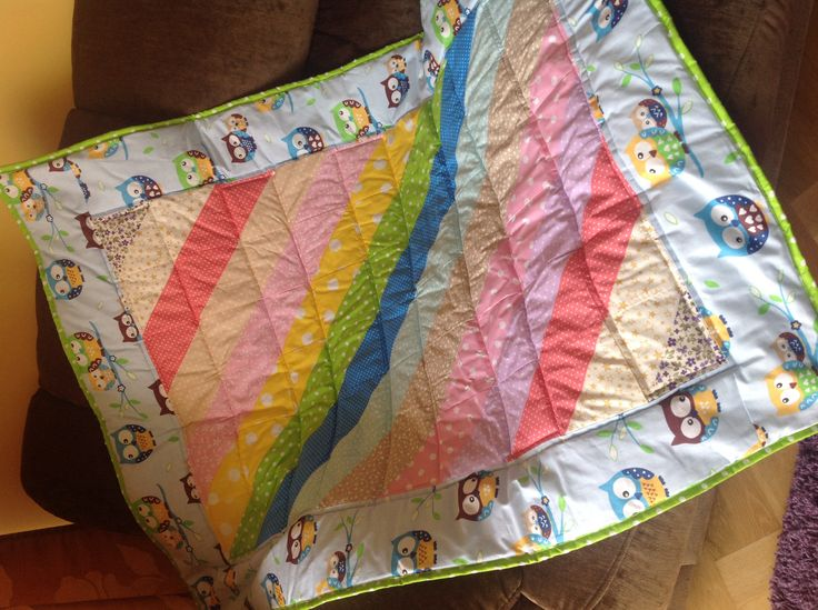 Patchwork Rainbow for baby girl