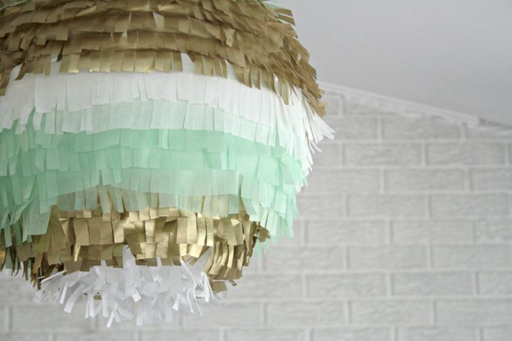 Trendige Lampe selber basteln – frische Ideen mit Papier