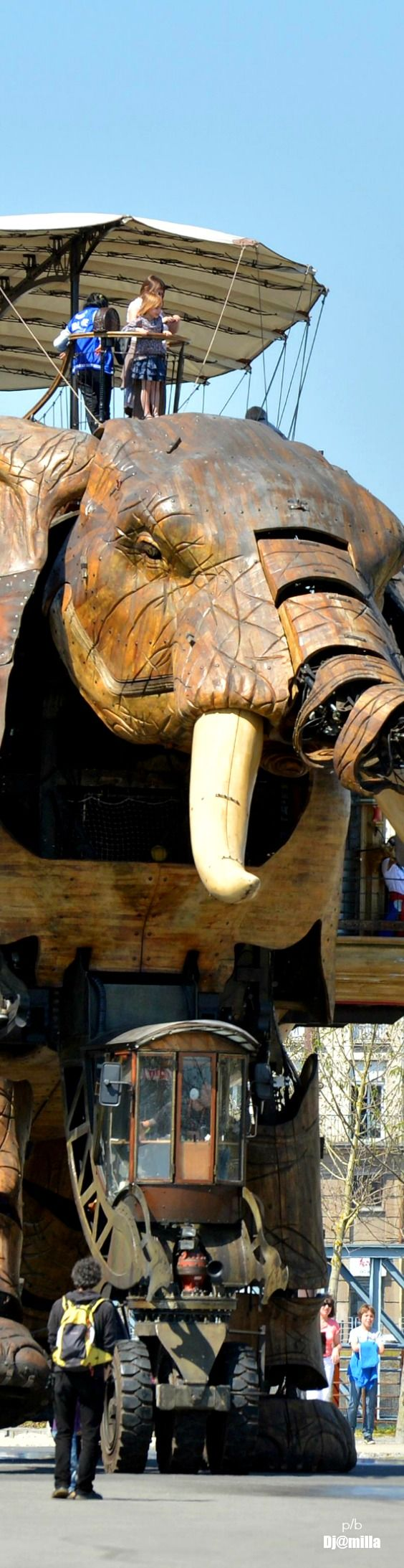 Art color nantes horaires - Machines Of The Isle Of Nantes The Great Elephant Le Grand Lephant