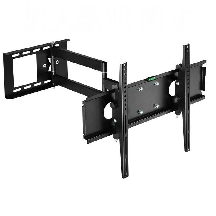 Universal Full Motion TV Wall Mount Retractable TV Bracket for 23~ 47 Inch LCD LED Plasma TV Rack Vesa 400x400mm