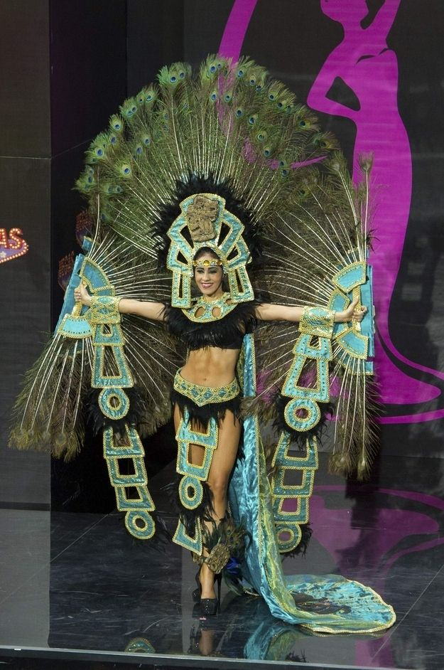 Miss Honduras: | Miss USA Wore A Transformers Costume In The Miss Universe Pageant And It Wasn't Even The Most Ridiculous Outfit