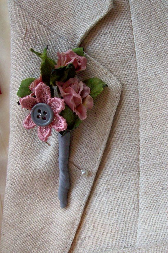 94 best amy bridal images on pinterest wedding planning 60s pink and grey button boutonniere button hole keepsake groom men lapel pin allergy free wedding alternative bouttoniere junglespirit Images