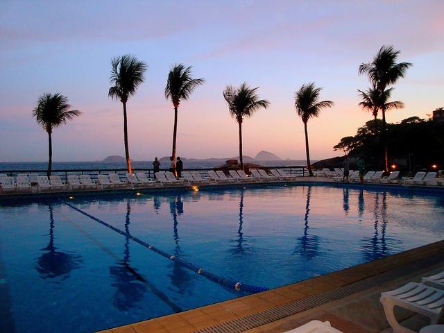Sheraton Rio Resort at sunset by Quiltsalad, via Flickr