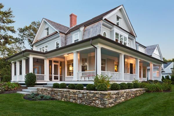 beautiful classic home with large porch