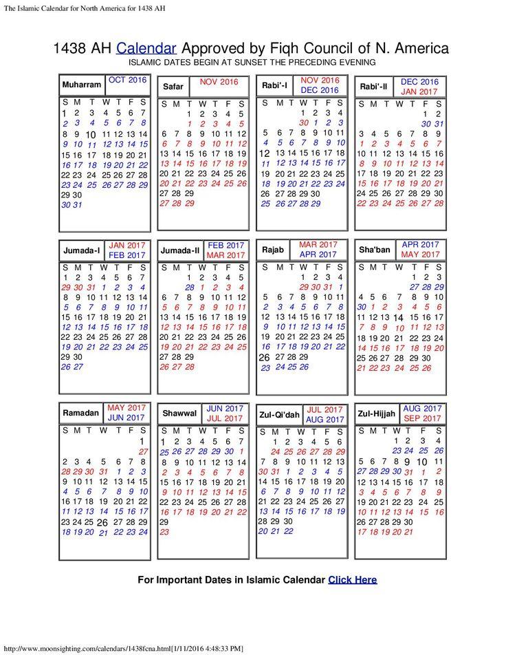 Calendar Monthly Meaning : Best ideas about hijri calendar on pinterest