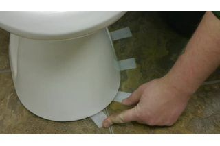 How to Level a Toilet on a Ceramic Tile Floor | eHow