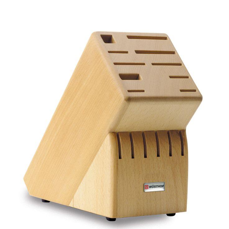 MESSERBLOCK   Buche   Gut Geschützt Und Immer Griffbereit Bewahren Sie Ihre  Messer Im Holzblock Auf. Ein Blickfang In Jeder Küche. Aus Hochwertiger  Buche.