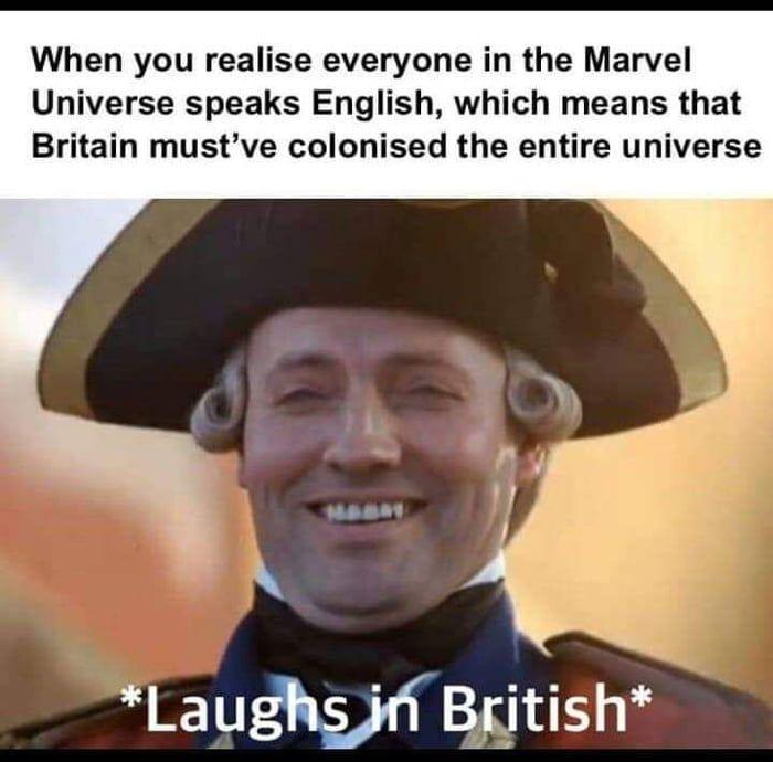 Good Old Fashioned Colinisation British Memes Funny Marvel Memes History Memes