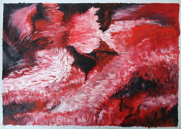 Het proces waaruit een uiteindelijk schilderij of prent ontstaat, te delen met bezoekers.