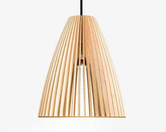 AION wooden pendant light wood lamp lampshades by IUMIDESIGN