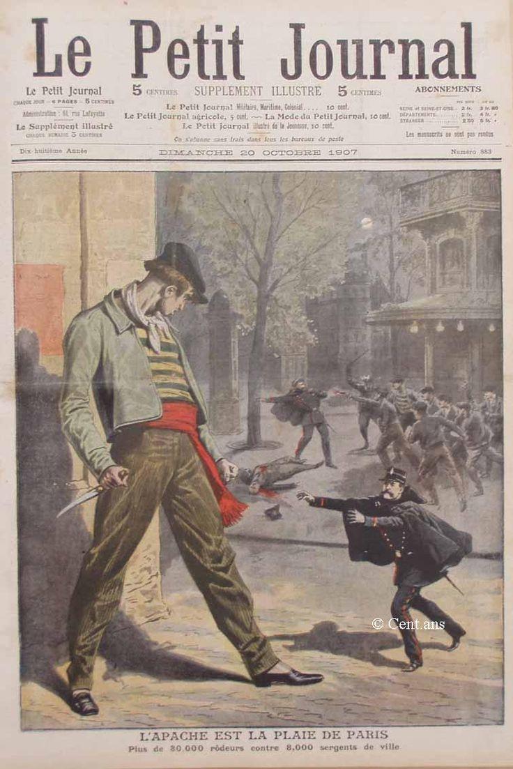 notas no tan sueltas: Les Apaches de Paris: les rois de la rue