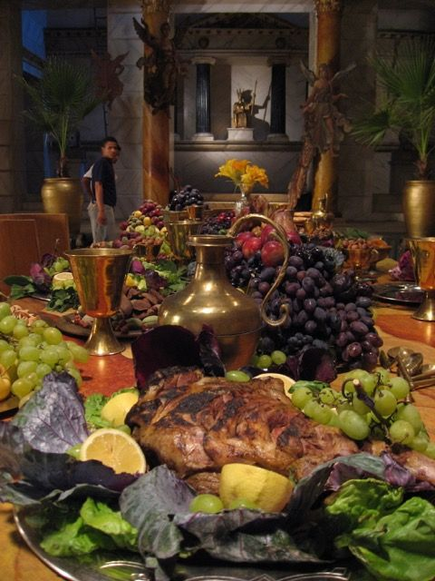 17 best images about filming the roman mysteries tv series for Ancient roman cuisine