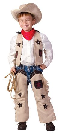 Toddler Little Cowboy Costume - Cowboy Costumes