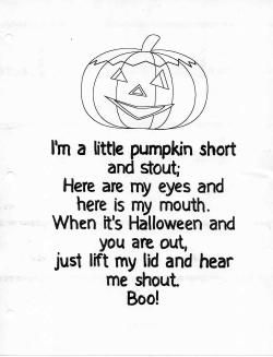 i think this poem is my favorite because it copies the rhythm and several words from - Good Halloween Poems