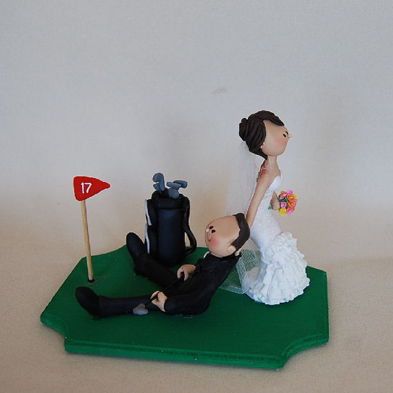 golf wedding cake toppers ireland 16 best images about cake toppers on 14851
