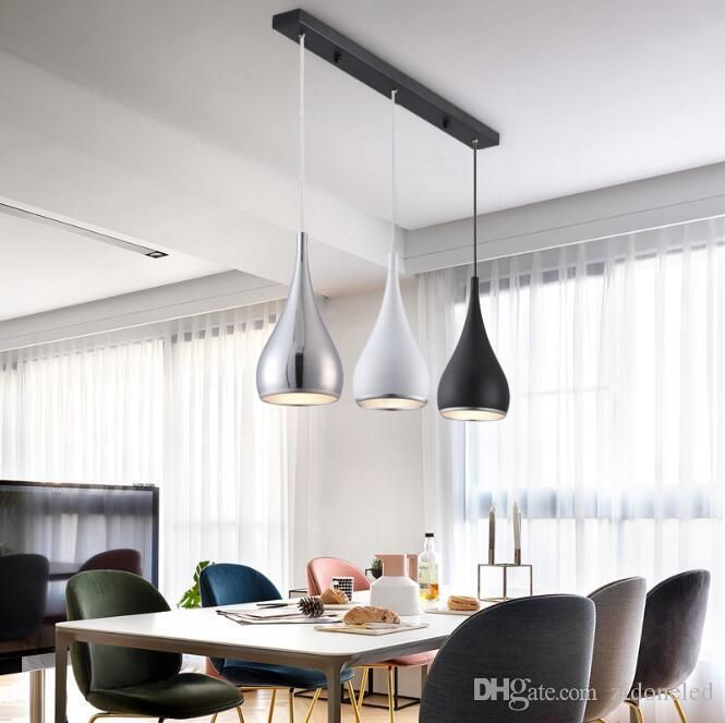 Contemporary Large Pendant Lights In The Dining Room Modern Pendant Lamps Pinned By Chireno Gold Dining Room Dining Room Design Modern Modern Dining Room