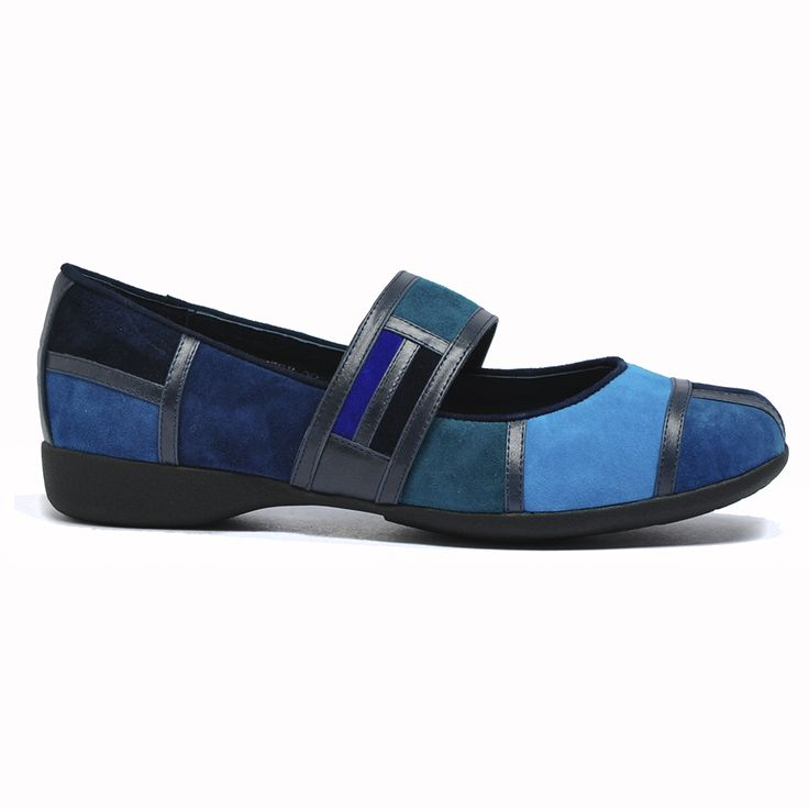 Trickery by Django and Juliette #blue #shoe #shoes #maryjane #cinori #django #colour