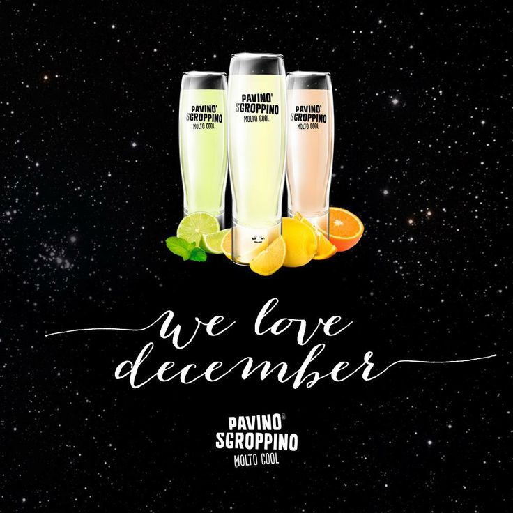 Pavino Sgroppino - we love december