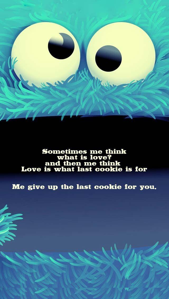 Cookay Monstar Yay Mmmmmm Cookie Monster BoardCute QuotesFunny