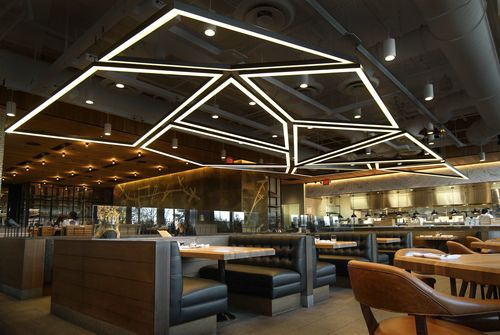 Custom Lighting designed by Matthew McCormick Studio. Earl's Restaurant. Boston.  Follow us: http://instagram.com/matthew.mccormick/  #Custom #Lighting #Design #Interiordesign #Interiors #Decor #Architecture