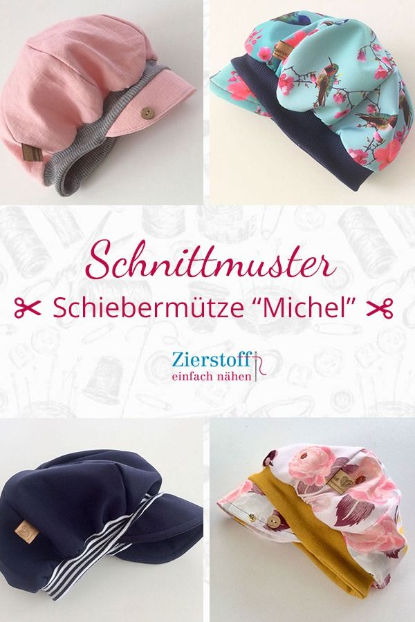 """Nähanleitung & Schnittmuster für die Schiebermütze / Ballonmütze """"Michel""""  – Nähen"""