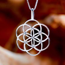 Seed of Life Pendant - Silver with Zircons The Symbol of Creation and Fertility. Jewel's Intention: Foster new ideas, and find protection during pregnancy. A symbol of blessing, fertility and protection Seed of life is worn as a symbol of protection for pregnant women. It helps to create new ideas and to open new pathways in life. The seed of life is a symbol for the days of creation. Click on the image to order. Size: 2.5cm/2.5cm - 1Inch/1Inch Metal:	Solid Sterling Silver 925 Price: $111