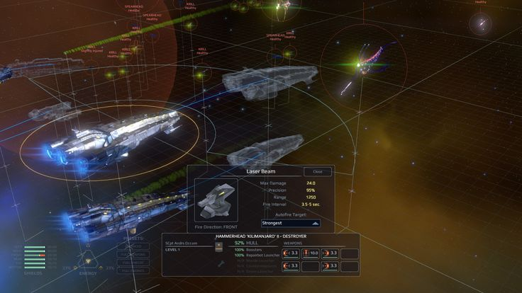 Screenshots of Star Hammer The Vanguard Prophecy PC Game