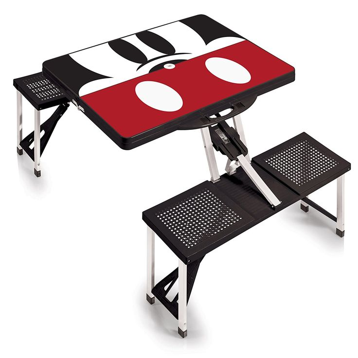Disney Discovery- Mickey Mouse Portable Folding Picnic Table