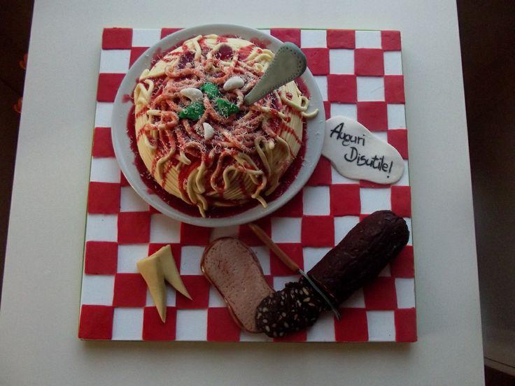 Torta spaghetti!