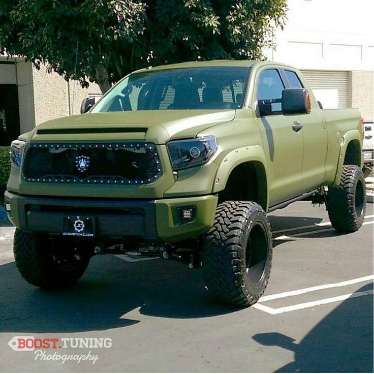 Army Green Toyota Tacoma