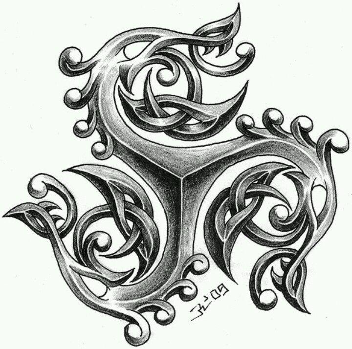 triskel tattoo design: 23 тыс изображений найдено в Яндекс.Картинках