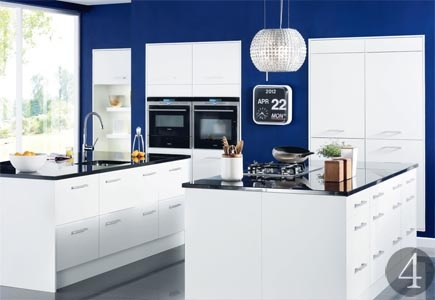 The latest kitchen units | Real Homes | Home improvement and decorating inspiration #PR #interiordesignmagazines