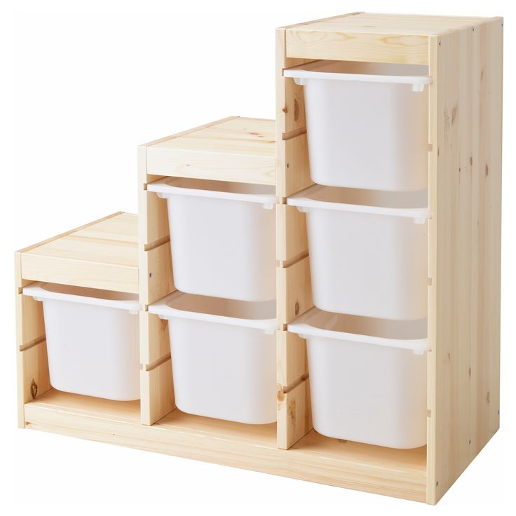 TROFAST Storage combination - IKEA.  These are the best for storage and can be configured many ways-- not just for kid's stuff!