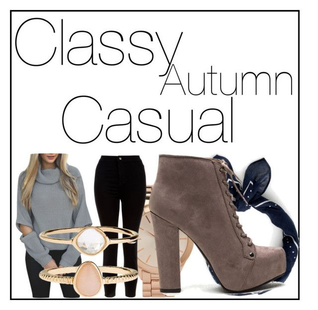 """Classy Autumn #1"" by kiwijulin on Polyvore featuring J.Crew, Aéropostale, New Look and Accessorize"