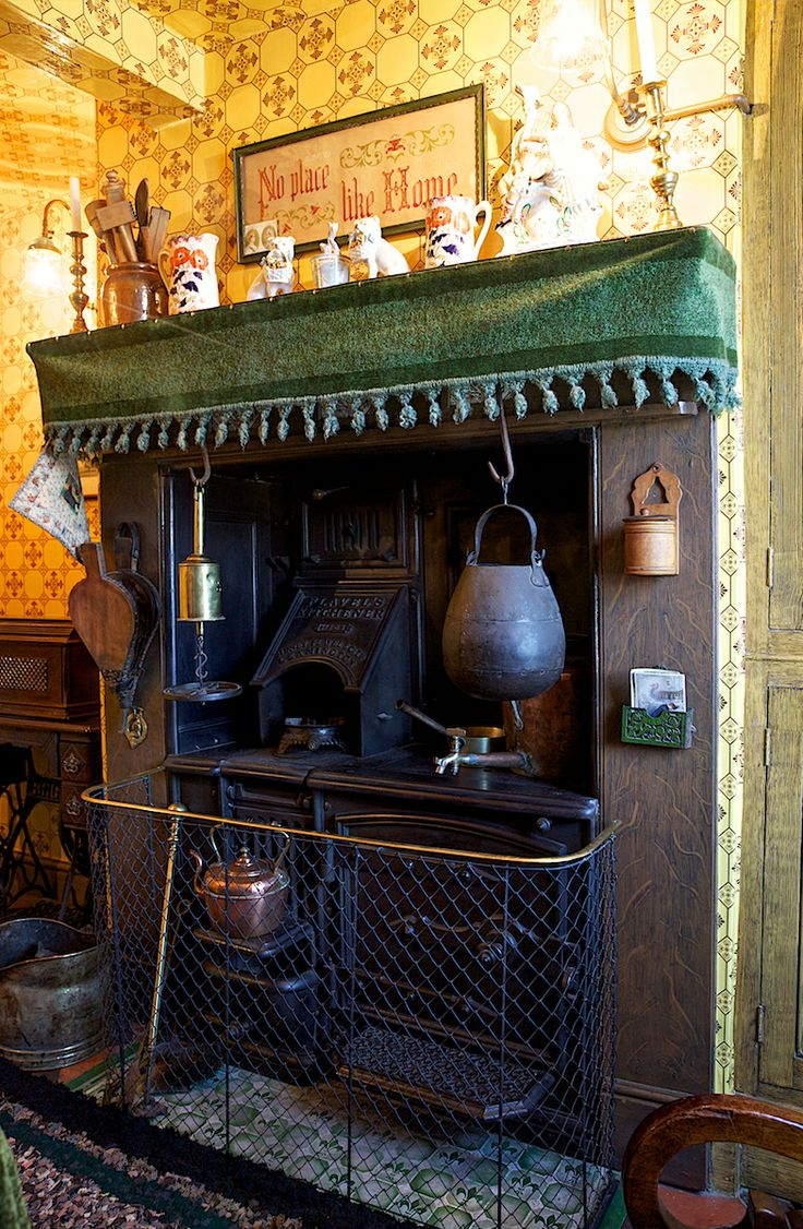 Victorian Flavels Kitchen Range My Victorian
