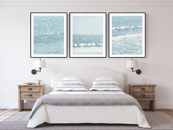 Beach Prints Nautical Wall Decor Ocean Photography Abstract Art