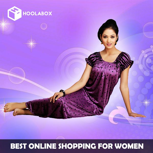 Buy women nightwear online at Hoolabox. India's largest #online #shopping #store Buy online wide range of new arrival women #nighty at best prices. ✓New Arrival ✓ Best Prices ✓ Cash on Delivery available.  Please Visit:- http://hoolabox.com/263-sleep-wears