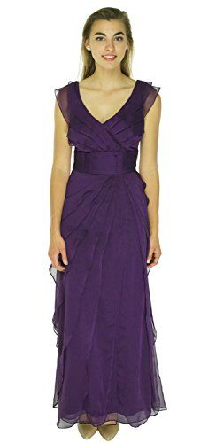 pg 6 on Amazon Adrianna Papell Dress Sleeveless Flutter Gown Eggplant (16W) Adrianna Papell http://www.amazon.com/dp/B00RVJCCUO/ref=cm_sw_r_pi_dp_i3j-ub0C7EGX4