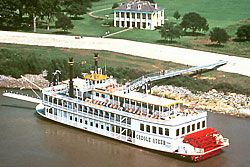 Chalmette Battlefield CruiseHistorical River Cruise  Focusing on the critical Battle of New Orleans, this cruise offered twice daily is narrated by a costumed re-enactor who takes guests on a journey through the history of the city as we sail downriver to the Jean Lafitte National Historical Park and the historic Chalmette Battlefield.
