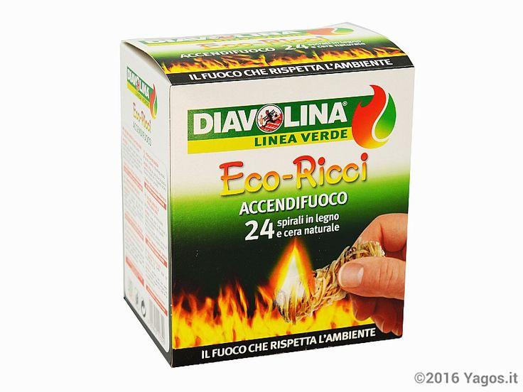 Eco-Ricci accendifuoco Diavolina 24 pz