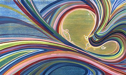surf art by Spencer Reynolds.