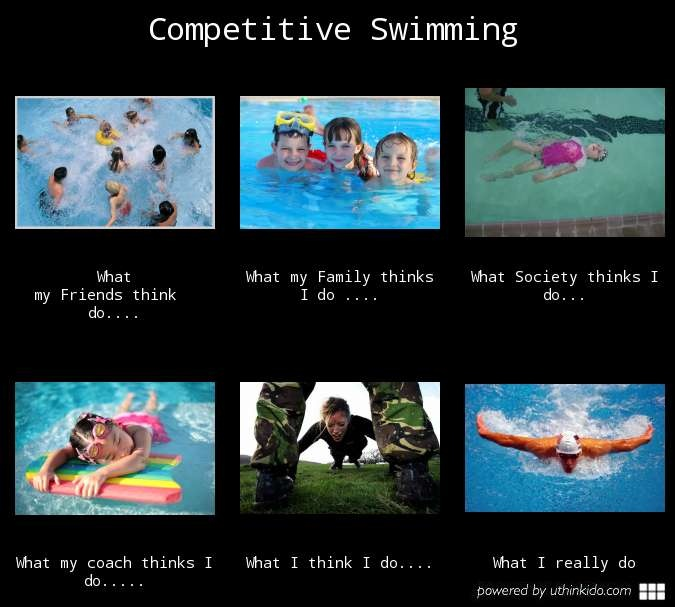 Bahahaha! love this although I think I may look alittle more like what society thinks when I swim lol