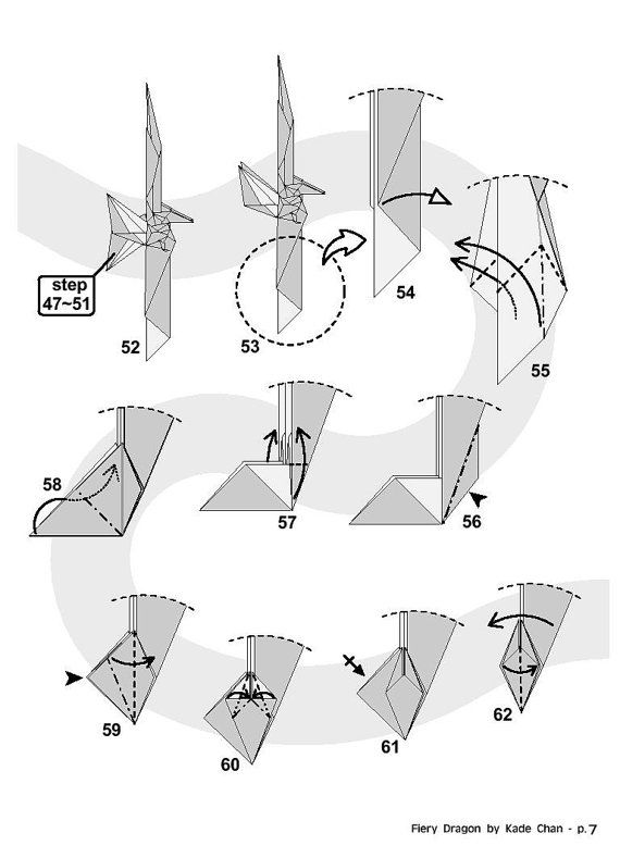 26 best paper origami and folding diagrams images on pinterest rh pinterest com origami dragon diagram pdf origami chinese dragon diagrams
